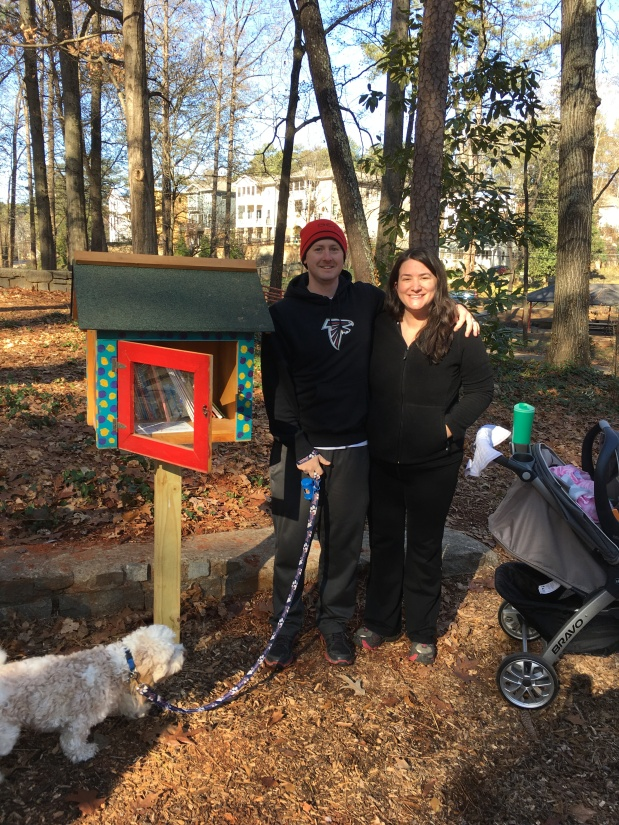 Dearborn Park's Little Free Library