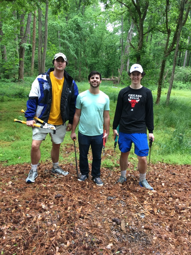 Kappa Sigma's Alpha Chapter at Emory University Service Day at Dearborn Park