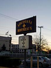 Louisiana Bistreaux Decatur sign