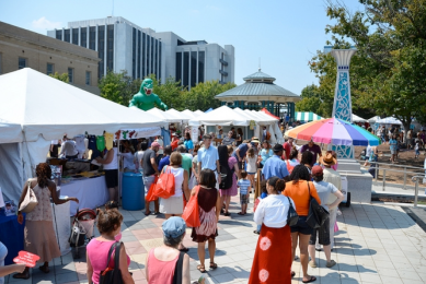 Square festival