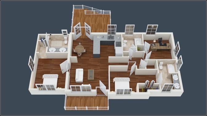 Hauswzei Homes Isometric View_02 - Copy