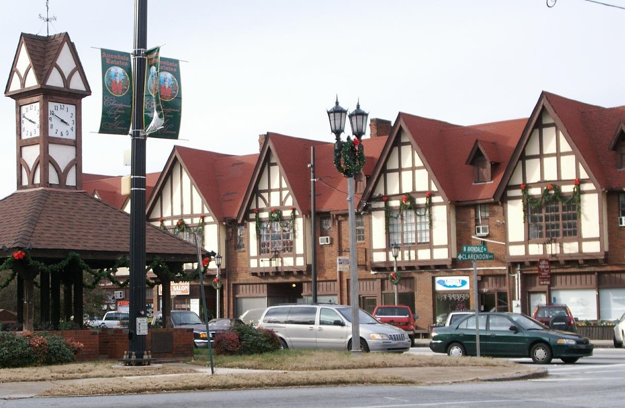 Avondale Estate Downtown Decatur Midway Woods Home For Rent Walk to Dearborn Park HausZwei Homes