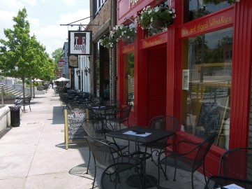 Downtown Decatur Midway Woods Home For Rent Walk to Dearborn Park HausZwei Homes