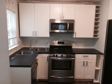Kitchen Midway Woods Home For Rent Walk to Dearborn Park HausZwei Homes