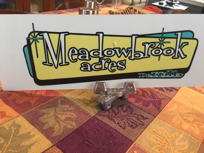 Meadowbrook Acres Street Sign Toppers Decatur Neighborhood